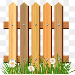 260x260 Free Download Picket Fence Flower Garden Clip Art