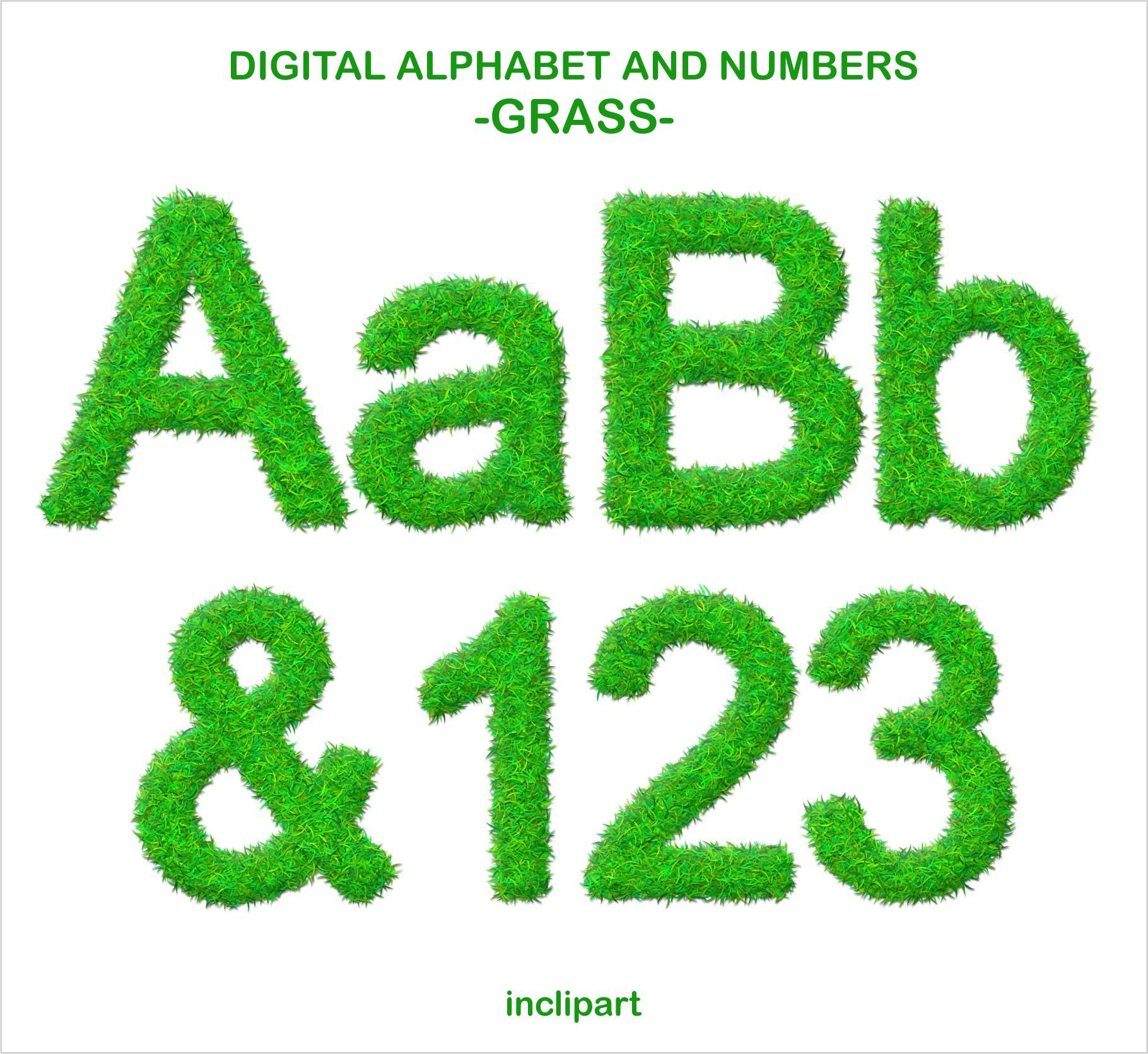 1820x1671 Grass Alphabet And Number Clipart. Green Grass Letters Numbers