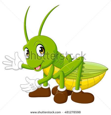 450x470 Grasshopper Clipart Green Object 3579155