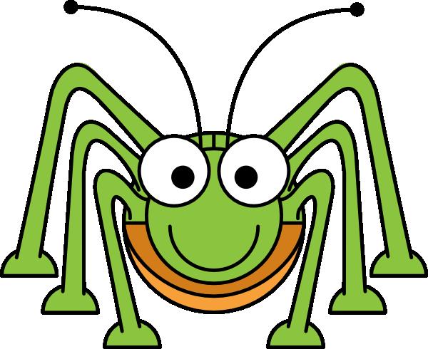600x490 Studiofibonacci Cartoon Grasshopper Clip Art Free Vector 4vector