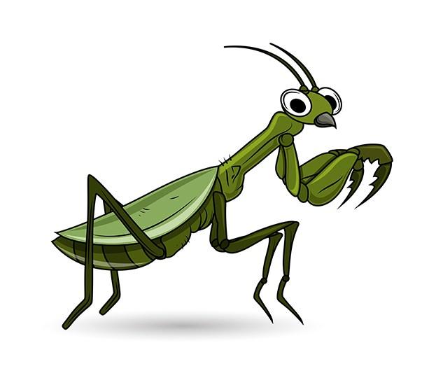 613x550 Download Free Grasshopper Cartoon Clip Art Vector Illustration