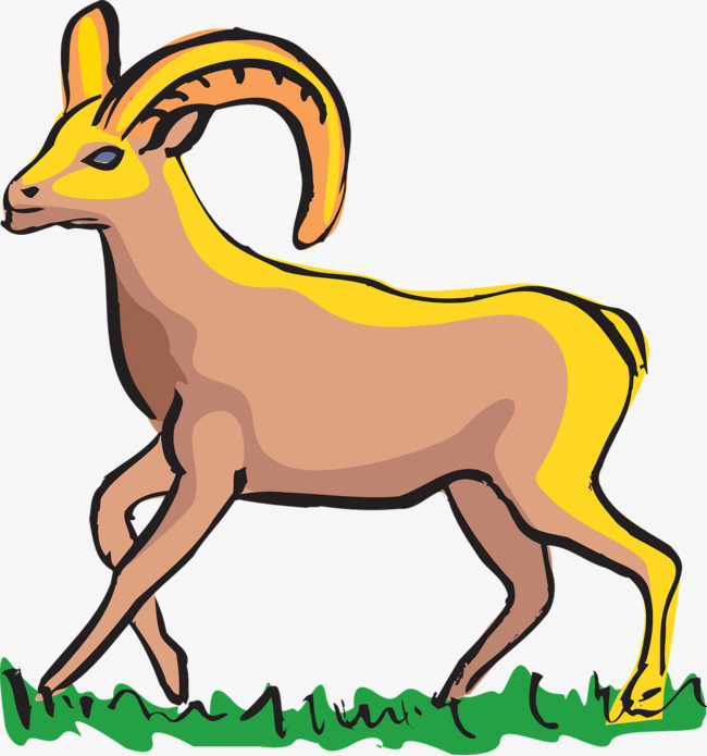 650x695 Running Antelope, Run, Antelope, Grassland Png Image And Clipart