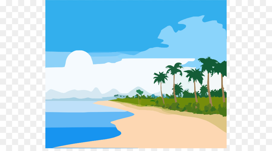 900x500 Hawaiian Beaches Florida Beach Shore Clip Art