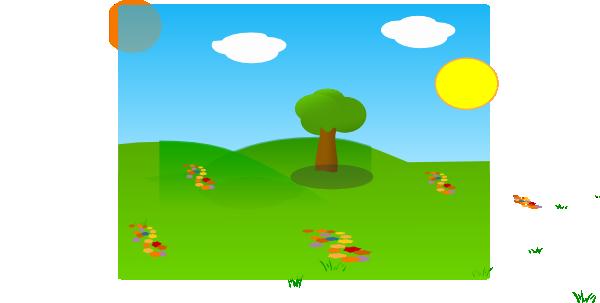 600x303 Landscape Clip Art