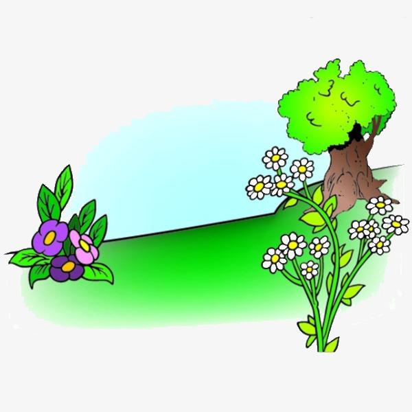 600x600 Cartoon Flowers, Cartoon, Flowers, Grassland Png Image And Clipart