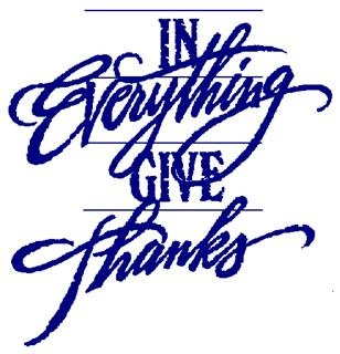308x320 In All Things Give Thanks Clip Art Happy Easter Amp Thanksgiving 2018