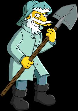 262x372 Gravedigger Billy Simpsons Wiki Fandom Powered By Wikia