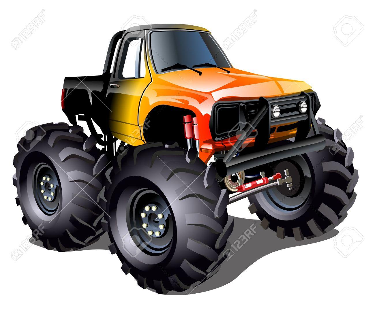 1300x1076 Monster Truck Clip Art Amp Monster Truck Clipart Images