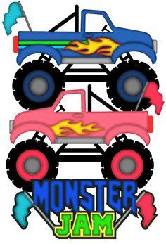 236x347 Monster Trucks Clipart