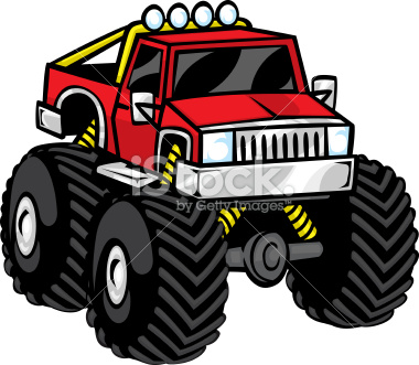 380x331 Monster Truck Outline (9 Photos)