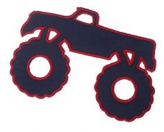 236x190 Monster Truck Svg File Cutting Template Vector Clip Art