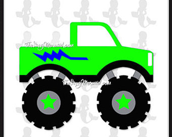 340x270 Monster Jam Svg Etsy