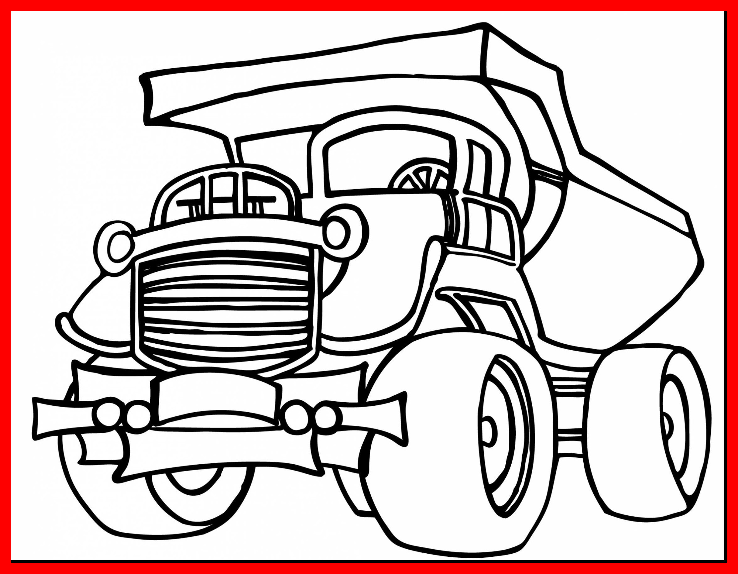 2357x1832 The Best Coloring Monster Truck Grave Digger Pic For Page Popular