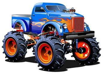 350x249 74 Best Monster Truck Images On Monster Trucks, Crayon