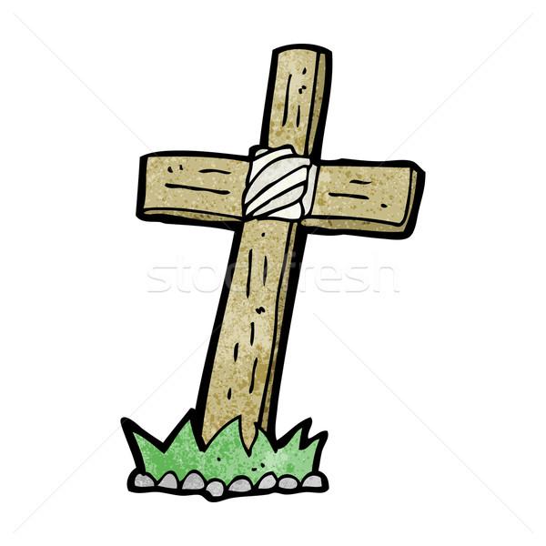 600x600 Gravestone Clipart Cross