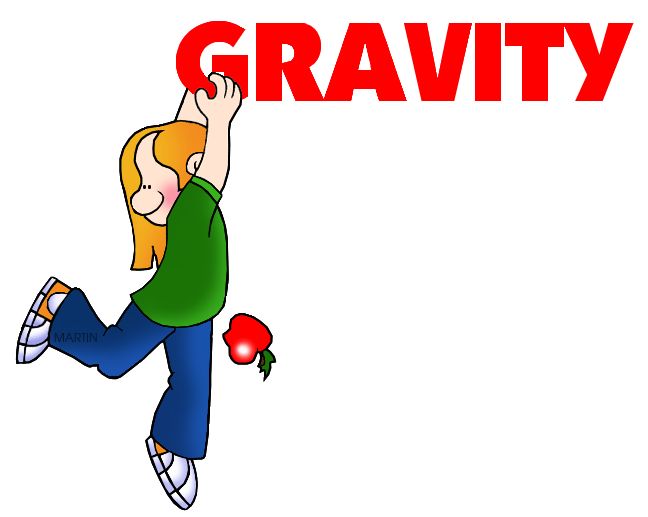 648x517 Science Clip Art By Phillip Martin, Gravity