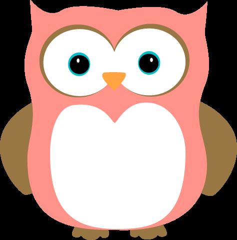474x479 Gray Owl Clipart
