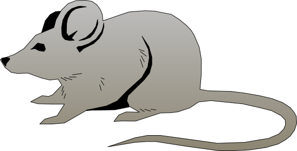 600x305 Little Gray Mouse Free Clip Art Clipart Png