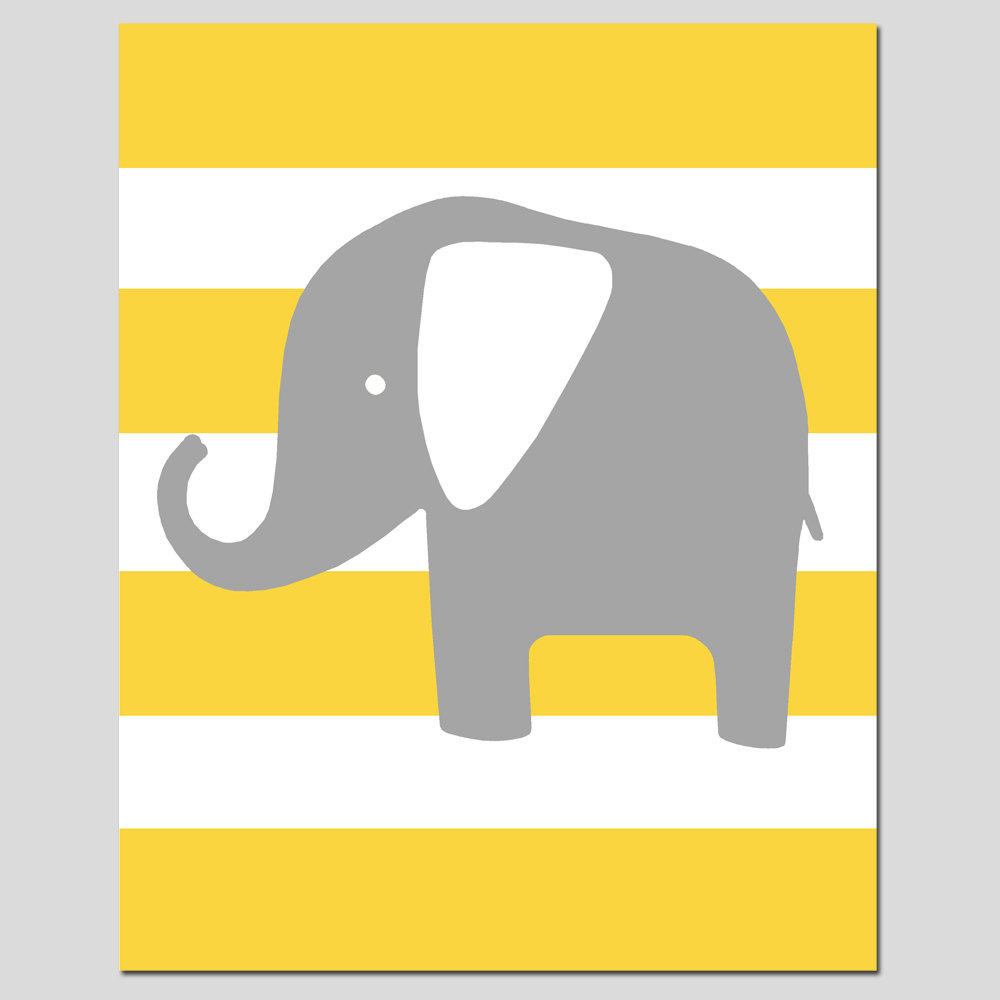 1000x1000 Yellow And Gray Elephant Clipart Amp Yellow And Gray Elephant Clip