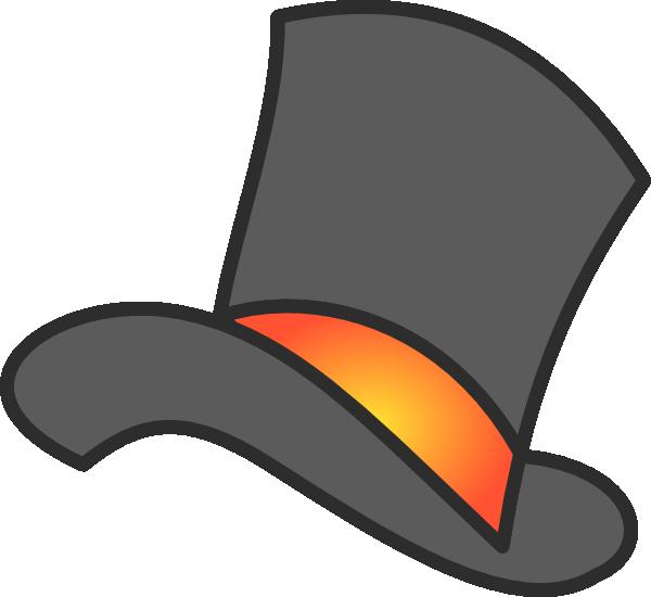 600x550 Top Hat Clipart Gray Top Hat Clip Art