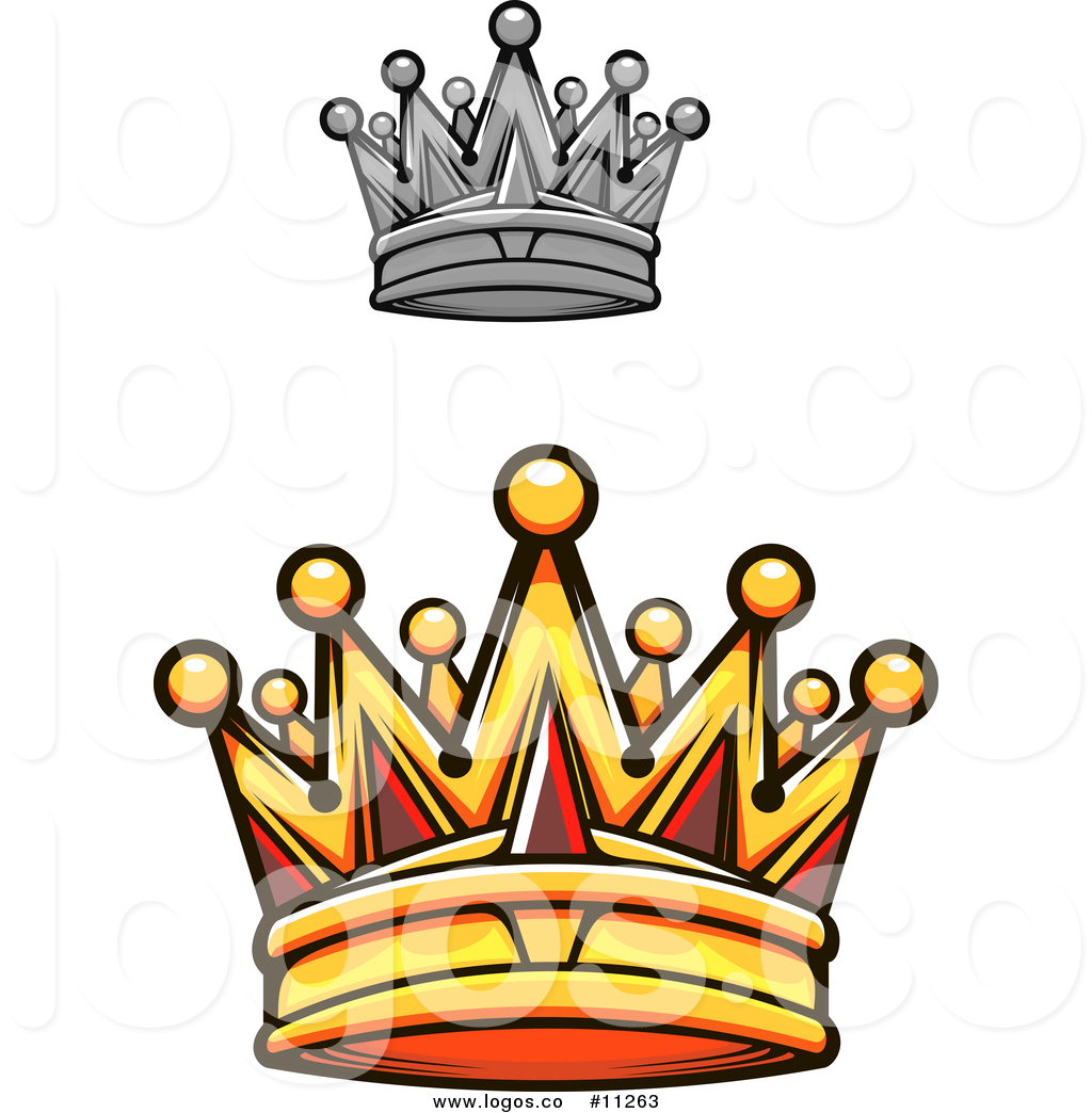 1024x1044 Royalty Free Vector Logo Of A Gold Royal Crown With Red Gems