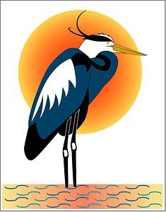 235x300 Great Blue Heron Drawings Fine Art America