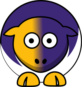 282x297 Sheep Albany Great Danes Team Colors