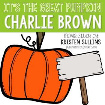 350x350 Movie Study It's The Great Pumpkin, Charlie Brown! Tpt