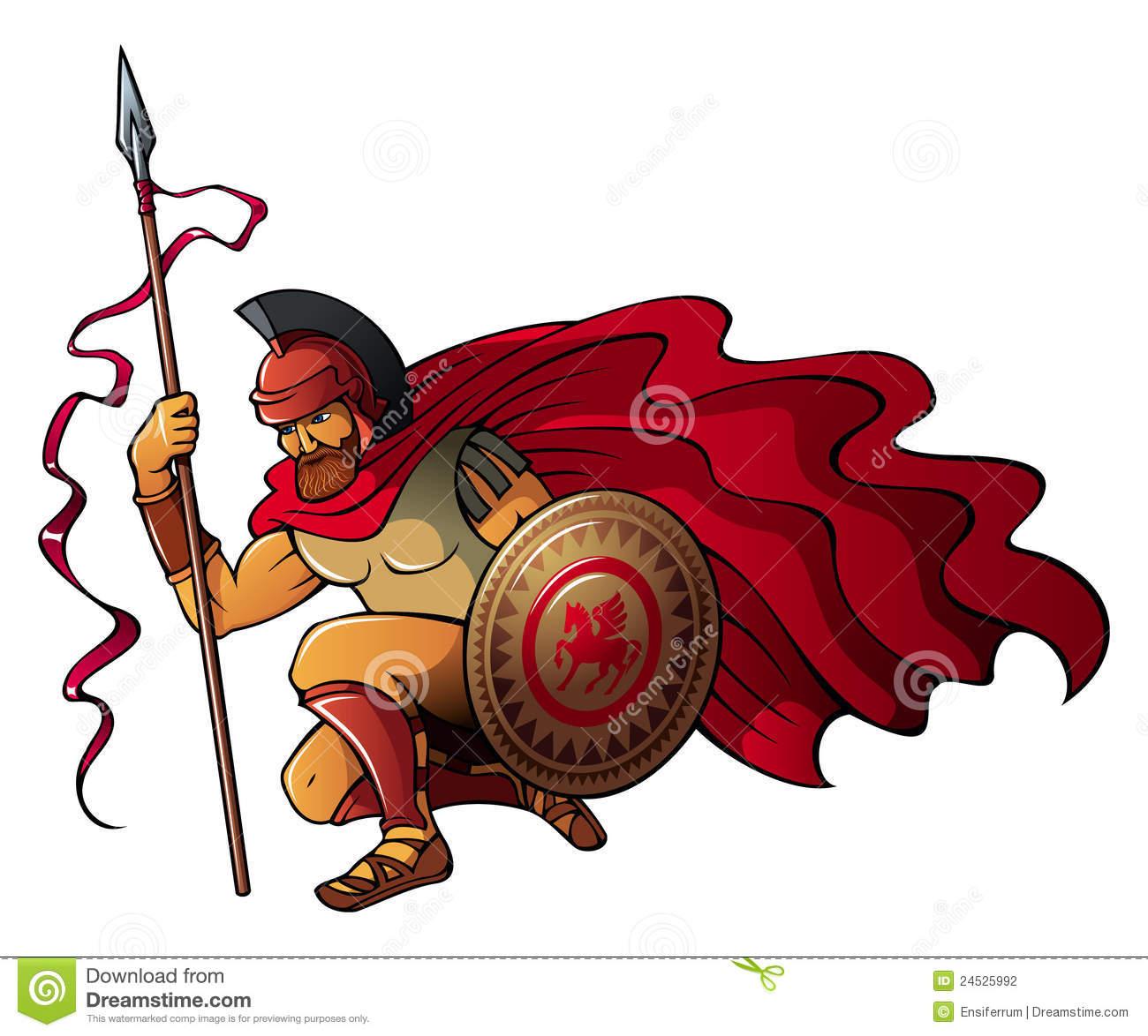 1300x1174 Warrior Clipart Greek Person