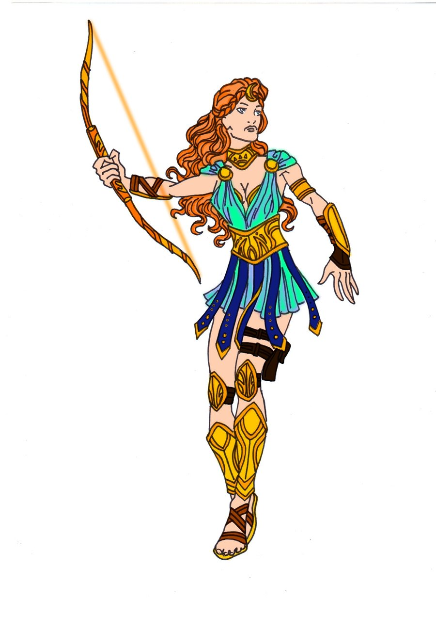 Greek Gods And Goddesses Clipart At Getdrawings Free For