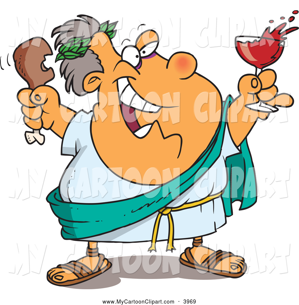 1024x1044 Clip Art Of A Friendly Or Outgoing Greek God Of Wine, Dionysus