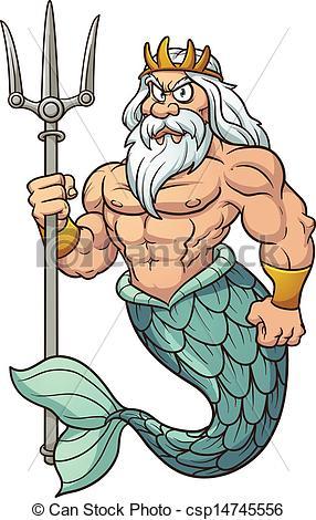 286x470 Poseidon Clipart Clipartlook