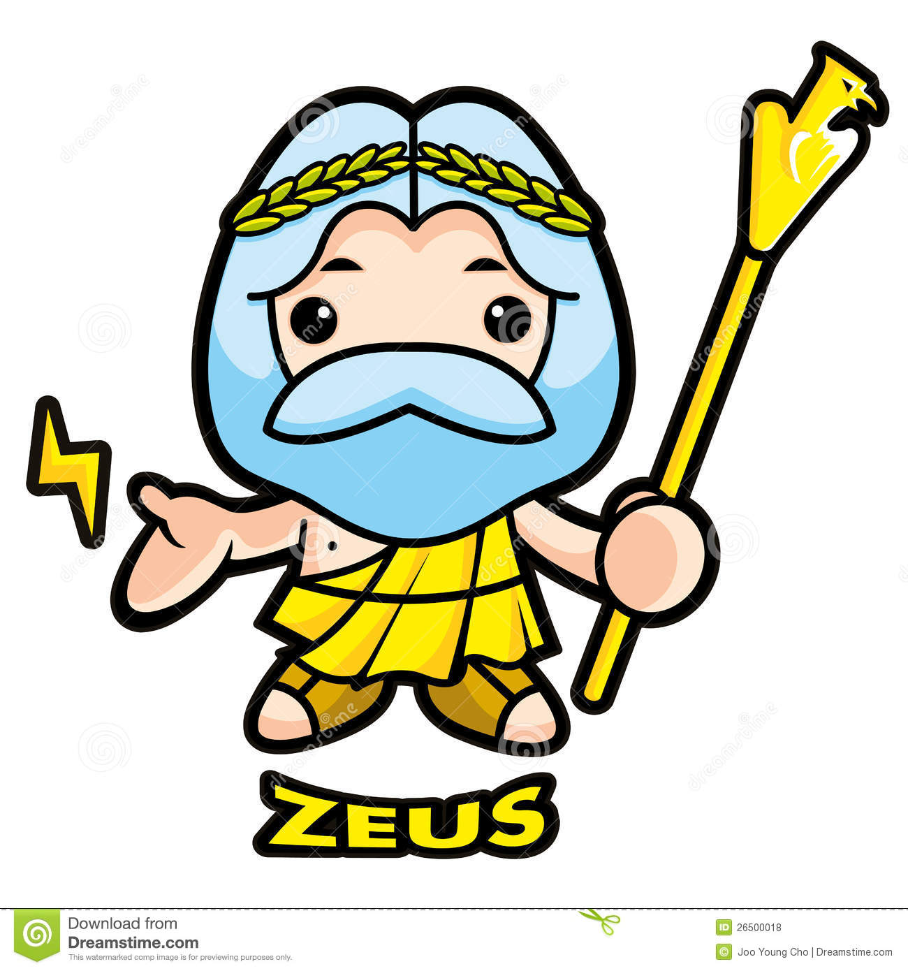 1300x1390 Zeus Clipart Greek God