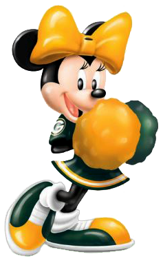 237x382 Green Bay Packers Clip Art Minnie Mouse Sports Clipart Green