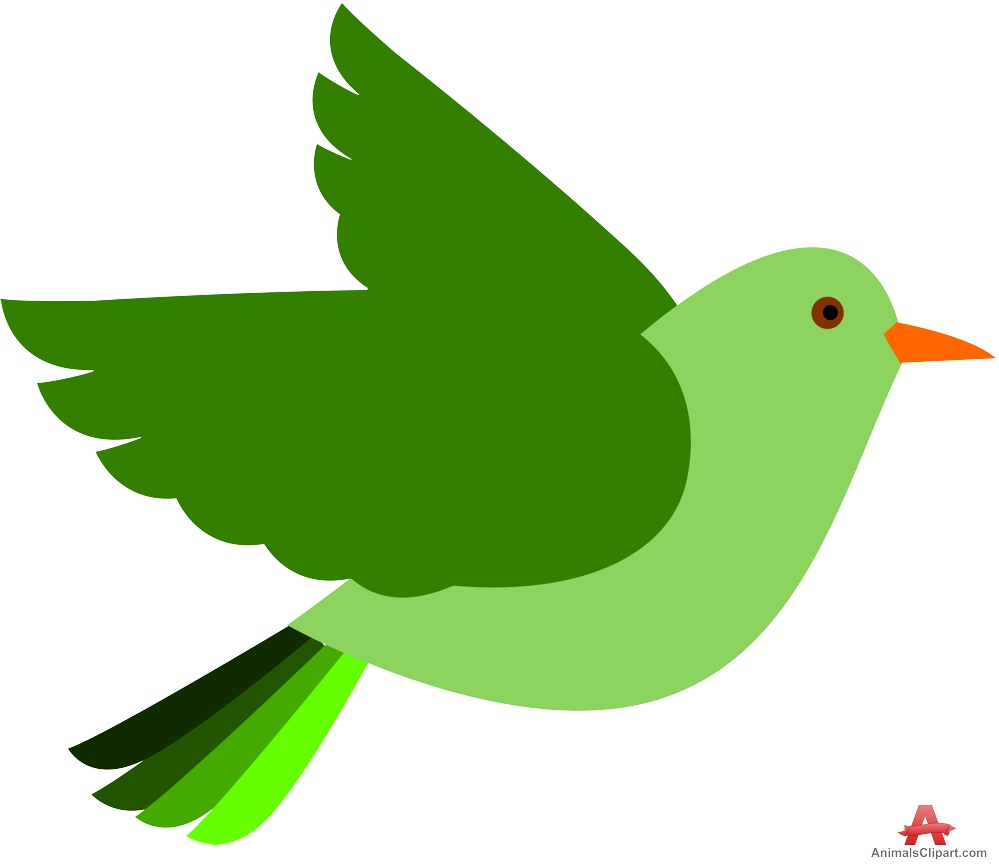 999x867 Green Bird Clipart Images On Page 0 Yanhe Clip Art