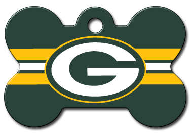 385x273 Green Bay Packers Licensed Nfl Dog Tag