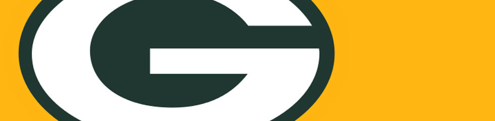 980x240 Nfl Green Bay Packers Collection