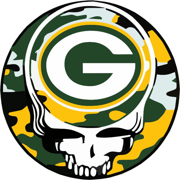 It is a photo of Old Fashioned Green Bay Packers Drawing