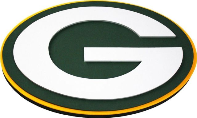 640x384 Nfl Fh2132 Green Bay Packers Fan 3d Foam Logo Sign
