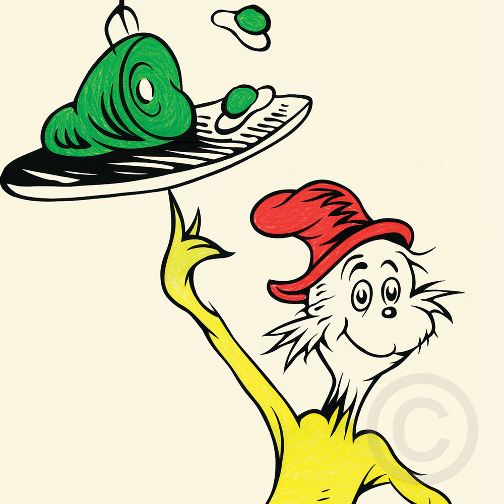 1000x1000 Green Eggs And Ham