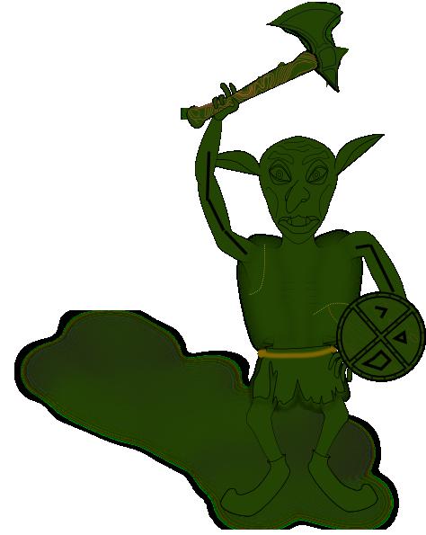 474x595 Goblin Clip Art