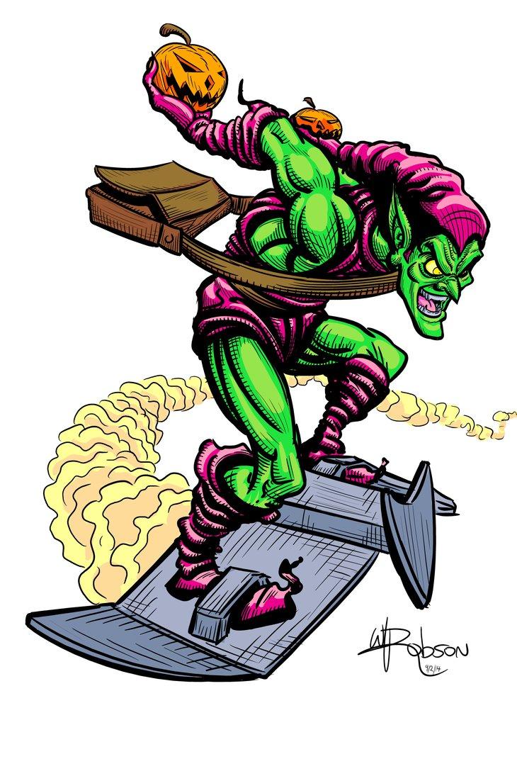 730x1095 Green Goblin Fan Art By Robsonink