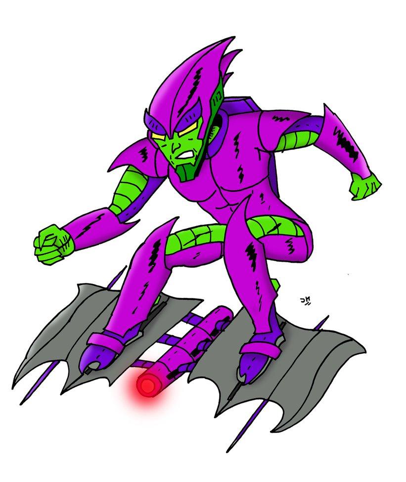 821x974 Green Goblin Redesign By Johnnyfive81