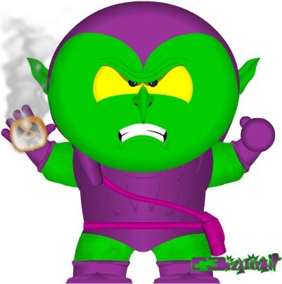 401x404 Green Goblin By Bizklimkit