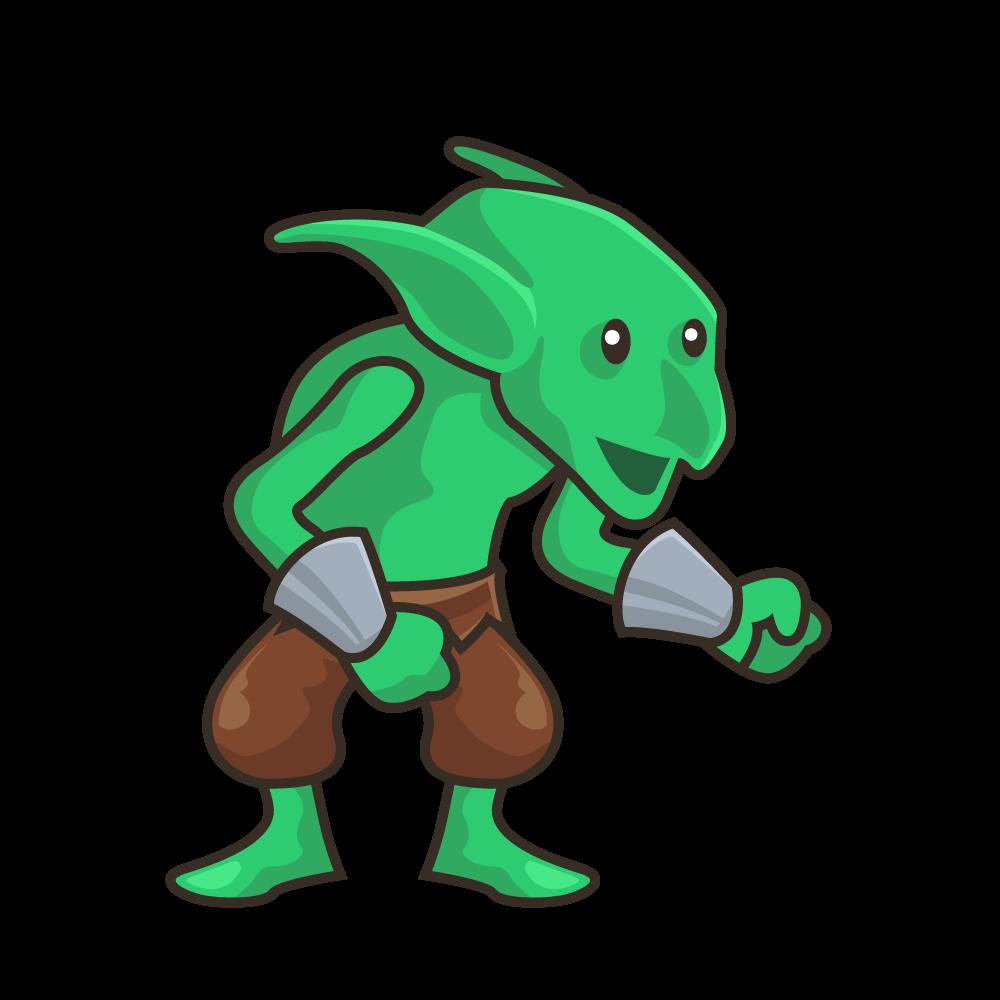 1000x1000 Green Goblin With Wrist Bracers