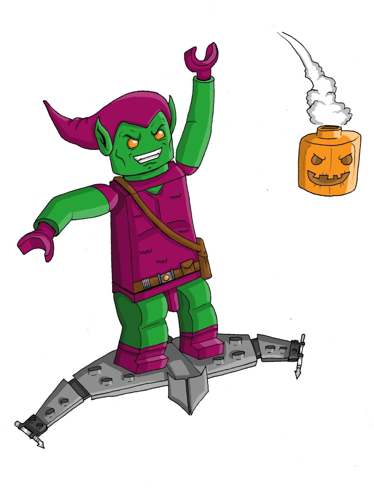 1226x1600 Lego Marvel Superheroes The Videogame My New Lego Green Goblin