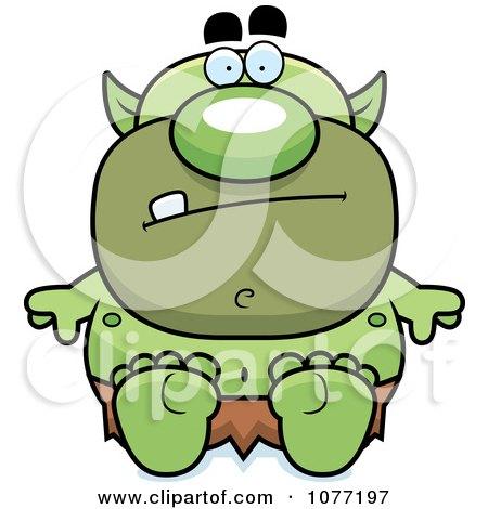 450x470 Royalty Free (Rf) Green Goblin Clipart, Illustrations, Vector