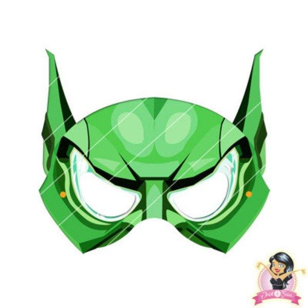 600x600 Buy Childrens Diy Printable Green Goblin Mask