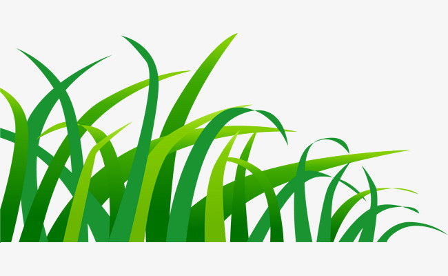 650x400 Hand Painted Green Grass, Hand, Simple, Watercolor Png Image