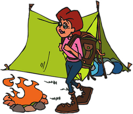 460x395 Camping Lantern Clipart. Top Kids Camping Clipart With Camping